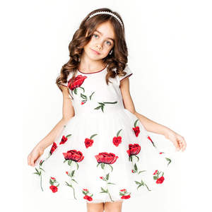 0a9d96e68 ChildDkivy Kids Dress for Baby Girls Children Party Clothes