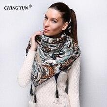 2018 New style Fashion Russian Ethnic Pattern Winter Woman Scarf Warm S