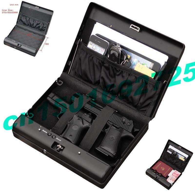 MD500 Portable Code numérique bijoux voiture pistolet Mini coffre fort
