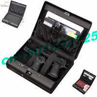 Sourcingbay Portable Fingerprint Biometric Mini Car New Biometric Gun Safe Pistol Safe Box Gun Vault Jewelry