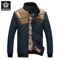 Delicate Design Man Thick Warm Coats Plus Size M-3XL Good Quality Leather Patchwork Men Winter Fashion Jackets