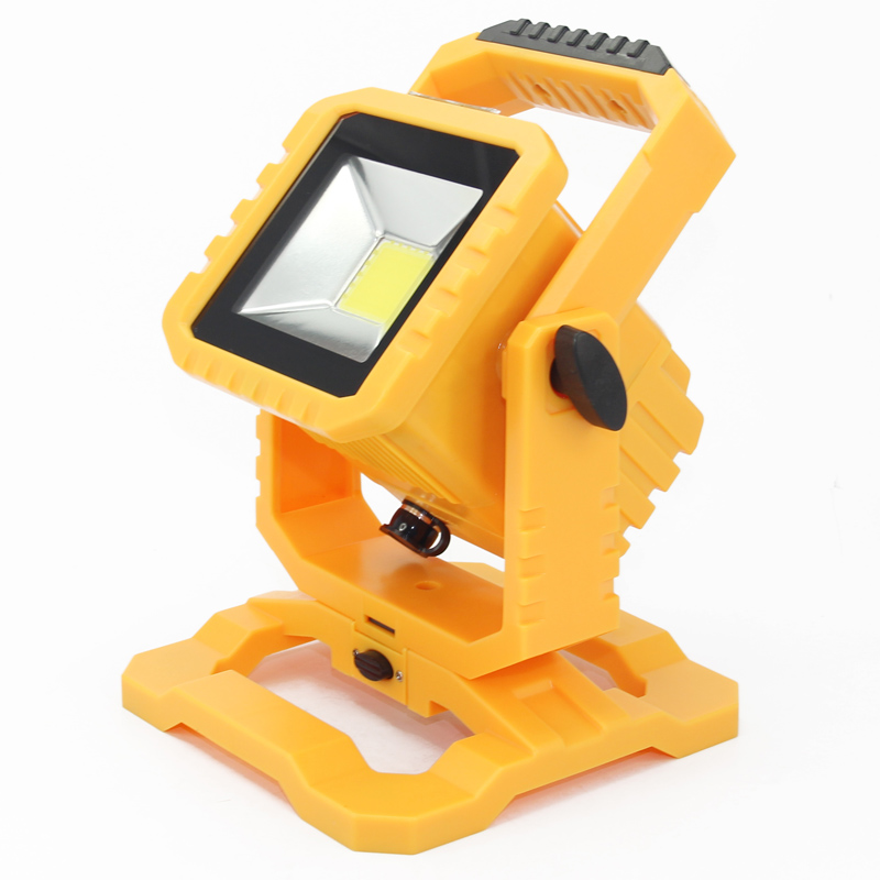 20W Rechargeable LED Floodlight IP65/IP67 Outdoor Lighting Portable Led Flood Light Spotlight Camping Fishing lighting Wall Lamp waterproof 1pcs 306w 102 x 3w 30600 lm car led bar ip67 led work lamp floodlight spot lighting for boating hunting fishing light