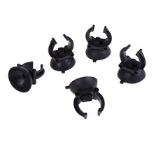 New 5Pcs Aquarium Sucker Suction Cup For Air Line Pipe Tube Wire Holder LED Lights Heating Rods Clip(China)