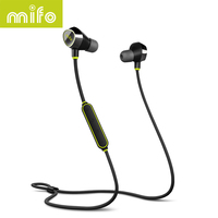 Mifo I8 Sports Bluetooth Earphone Stereo Music Wireless Headset Magnetic Suction Charging Earphones Headphone For Iphone