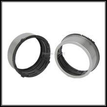 10 unids tubo anillo barril engranajes lente para nikon s3100 s4100 s4150 s2600 para casio ex-zs10 zs15 reparación parte (plata y negro y rojo)