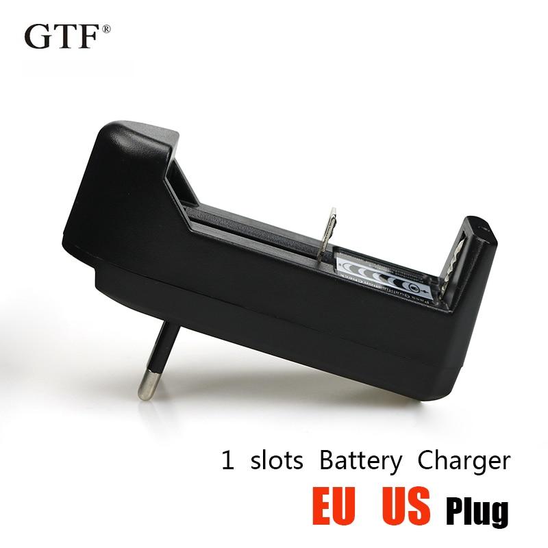 EU/US Li-ion Battery Charger 3.7V 18650 16340 14500 Li-ion Rechargeable Battery Charger