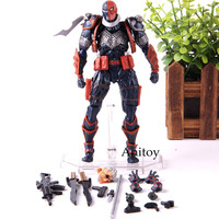 Deathstroke Sculpted By Yamaguchi Katsuhisa DC Comics Figure Action Terminator PVC Collection Model Toy Complex Amazing Yamaguch