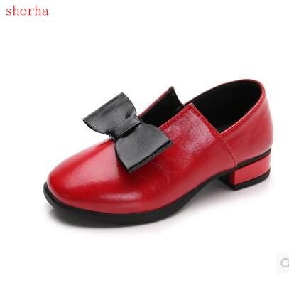 Girl Shoes Kids Girls Princess White Wedding Shoes Children Baby Girl Shoes  PU Leather Dance Shoes size 25-36 b800fdd9eefb