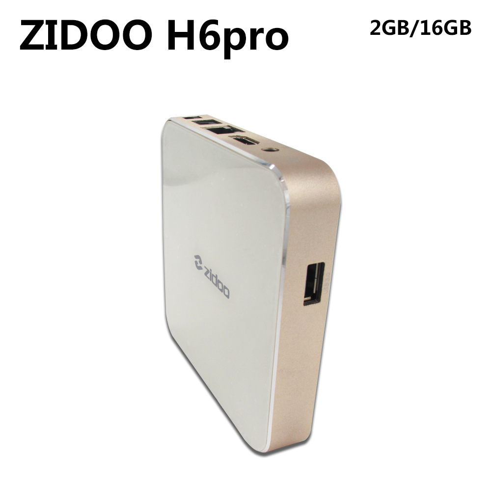ZIDOO H6 PRO Smart Set Top Box 2GB RAM 16GB ROM Android 7.1 2.4G 5.0G WiFi 1000M Gigabit LAN Bluetooth 4.1 zidoo x6 pro 4k2k h265 smart android 51