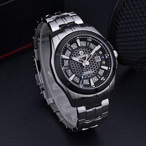 Image 3 - レロジオmasculino casimaミリタリークォーツ腕時計メンズ太陽エネルギー充電サファイア腕時計カレンダー時計男性saat montreオム