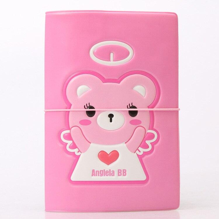 Hot Overseas travel accessories passport cover, luggage accessories passport card-Angel bear