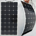 10pcs/lot 100W/24v Semi flexible solar panel Free shipping