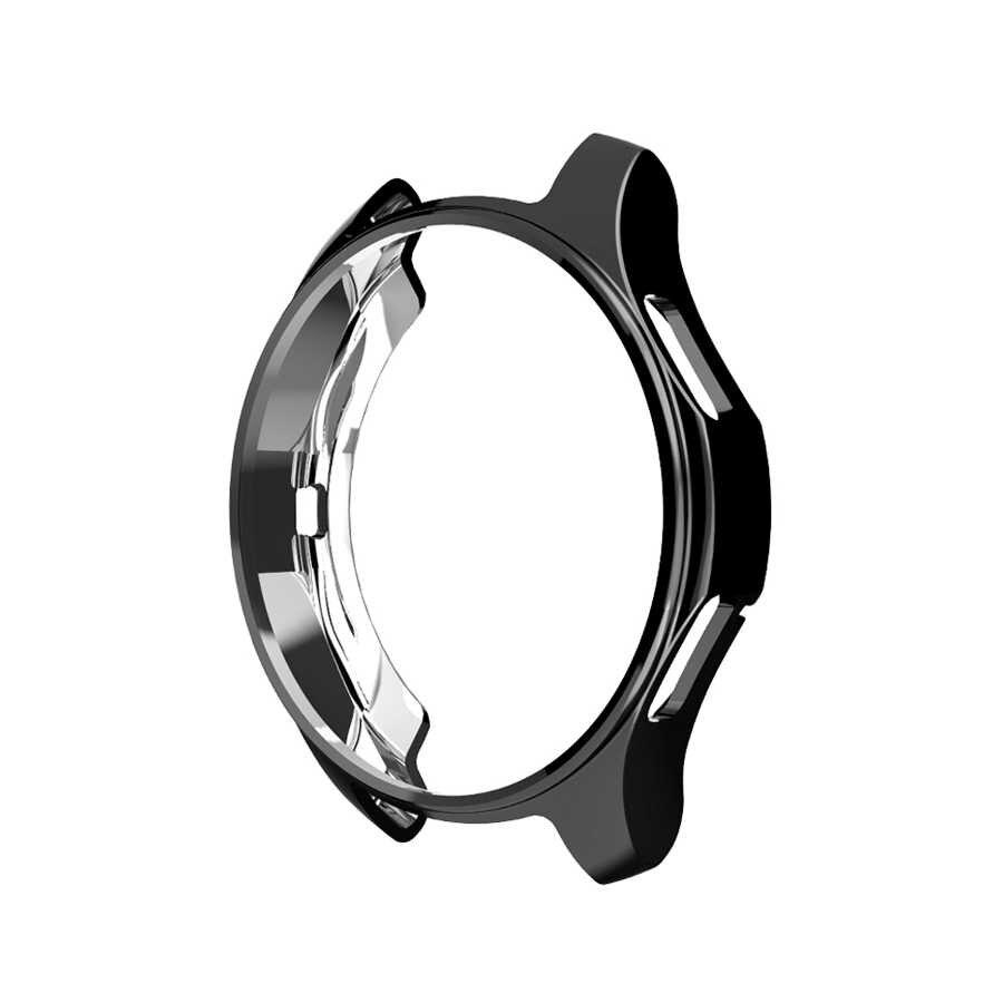 Protection étui pour Samsung Galaxy Watch 42mm/46mm TPU Souple Plaqué Montre Couverture Cadre Protecteur de Peau pour Samsung Gear S3 Frontière