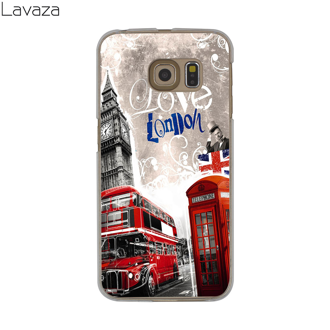 Lavaza Flag United Kingdom London Case for Samsung Galaxy S20 Ultra S10 Lite S10E S6 S7 Edge S8 S9 Plus A51 A71 A81 A91