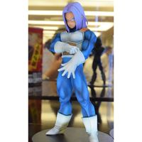 Dragon Ball Z Trunks Action Figure Resolution of Soldiers Vol.5 Trunks Model Toy Figuras DBZ Super Saiyan Figure Original