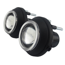 Car Bifocal High low beam sport front bumper halogen hid led fog lens lamp Light Assembly for For Mini cooper r56 2006 2009 2013 цена