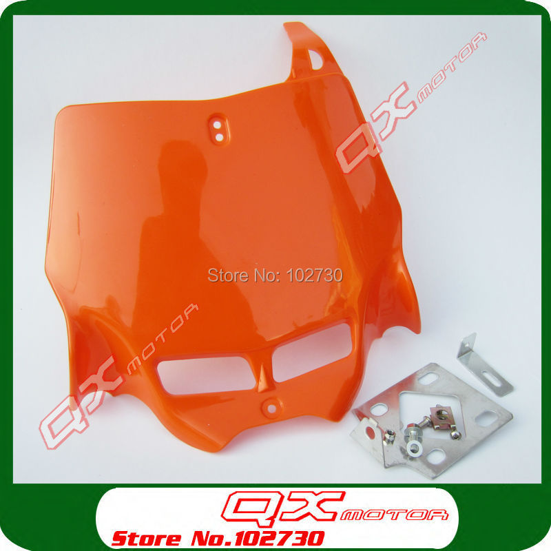 front Number Plate for Plastic Cover for Kayo Apollo Bosuer Xmotos zongshen shineray 250cc Dirt Bike Motorcross free shipping-in Covers \u0026 Ornamental ...  sc 1 st  AliExpress.com & front Number Plate for Plastic Cover for Kayo Apollo Bosuer Xmotos ...