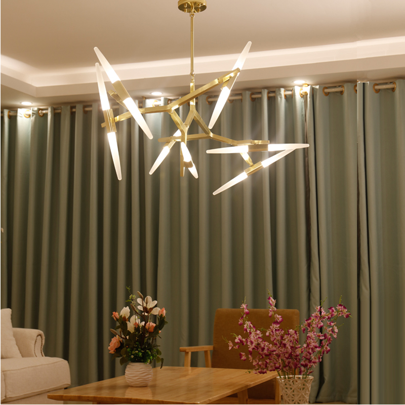 Nordic hanglamp Art Individuality Living Room hanging loft decor Exhibition Hall light fixture Restaurant Modern Chandelier