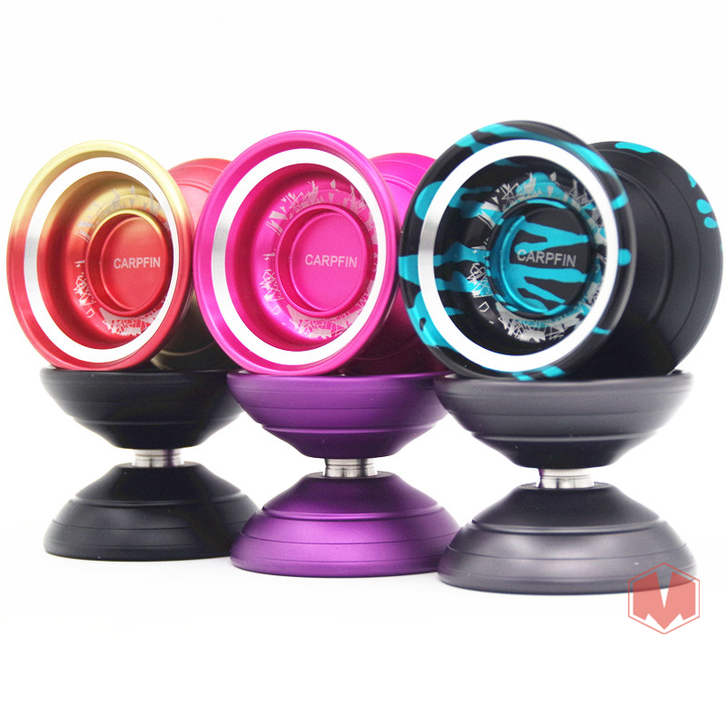 MAGICYOYO   M08 CARPFIN YOYO Professional metal yo-yo