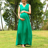 Maternity Dresses Elegant Long dresses Bohemian Beach dresses sundresses Evening Dress for pregnant women For Parties Weddings