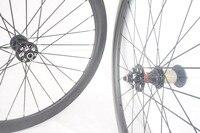 50mm Disc Wheelset Carbon Fiber Road Disc Brake Wheel With Width 23mm