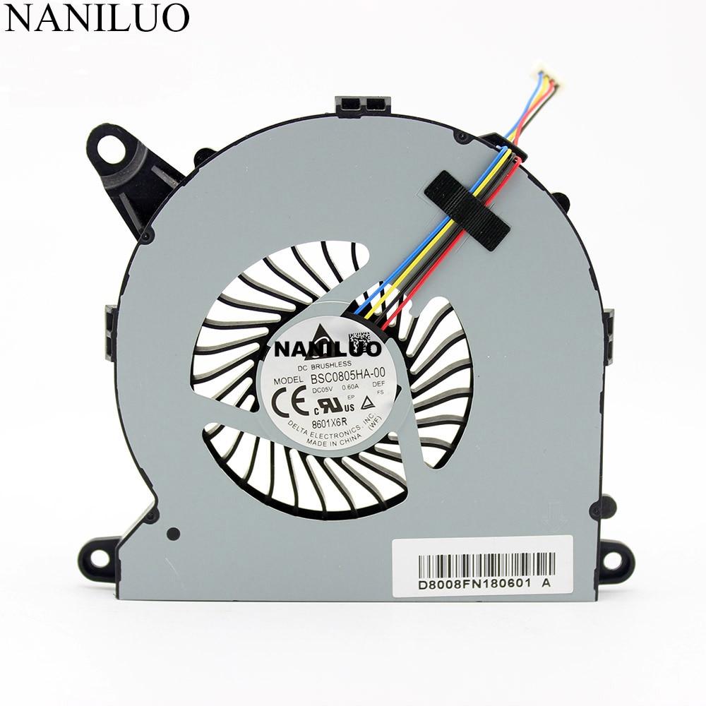 BSC0805HA-00 DC05V 0.60A 4pin BSC0805HA Notebook Fan For Intel NUC8i7BEH Fan