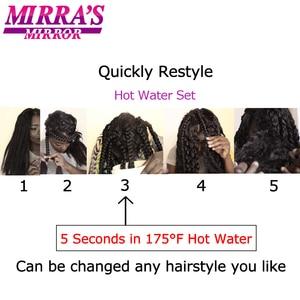 Image 4 - ミラのミラー簡単事前延伸ジャンボ組紐髪オンブル編組毛延長合成かぎ針髪