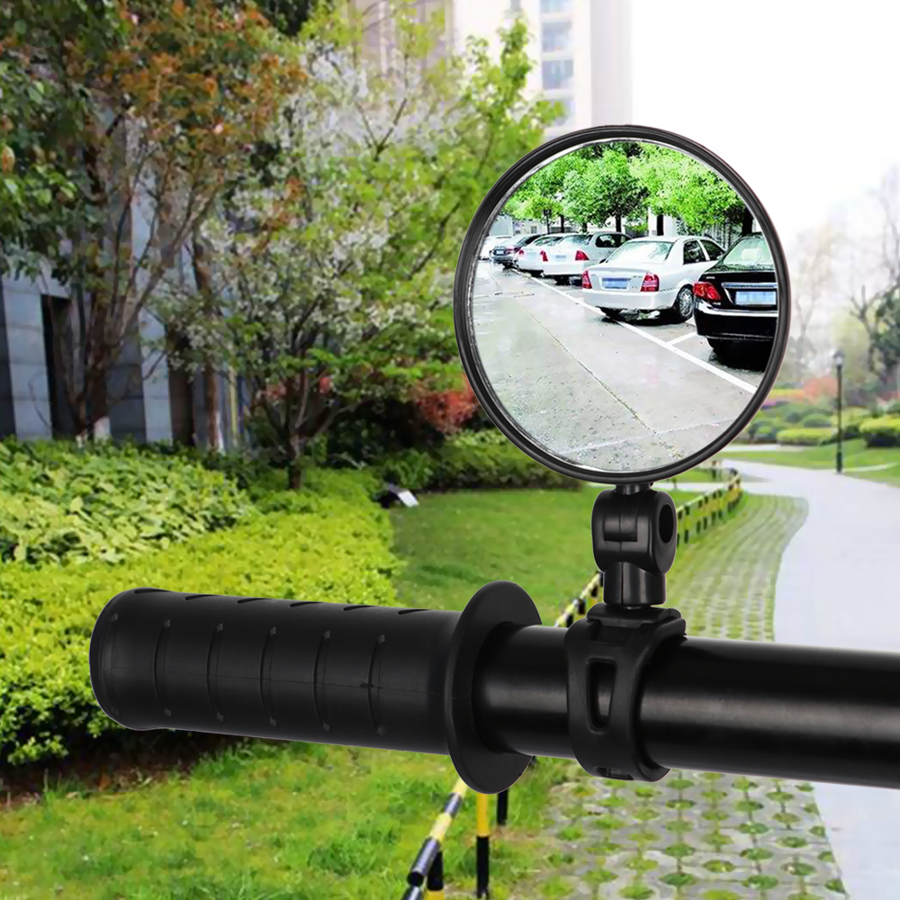 1PC Rear View Bicycle Mirror Handlebar Motorcycle Looking Glass Bike Rearview