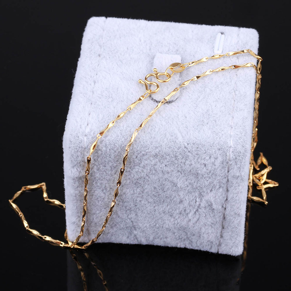 St.kunkka Delicate Flower Statement Necklaces Pendants Woman Chokers Collar Seeds Chain 24K Yellow Gold Filled Chunky Jewelry