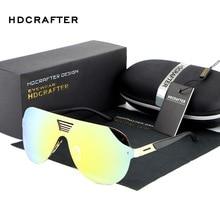 Hdcrafter 2017 Винтаж поляризационные Солнцезащитные очки для женщин Для мужчин плоский объектив без оправы квадратной Рамка очки Для женщин негабаритных круто зеркало Защита от солнца Очки