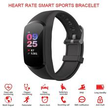 VODOOL Smart Watch Sport Fitness Activity Tracker Heart Rate Blood Pressure Monitor Wristband IP68 Waterproof For Android IOS colmi smart watch oled screen heart rate blood oxygen pressure brim ip68 waterproof activity tracker for android and ios phone