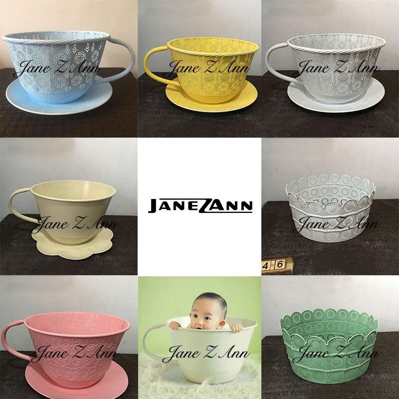 Джейн Z Ann новорожденного реквизит для гладить Кубок корзина творческие идеи фотография фотосъемка studio Аксессуары
