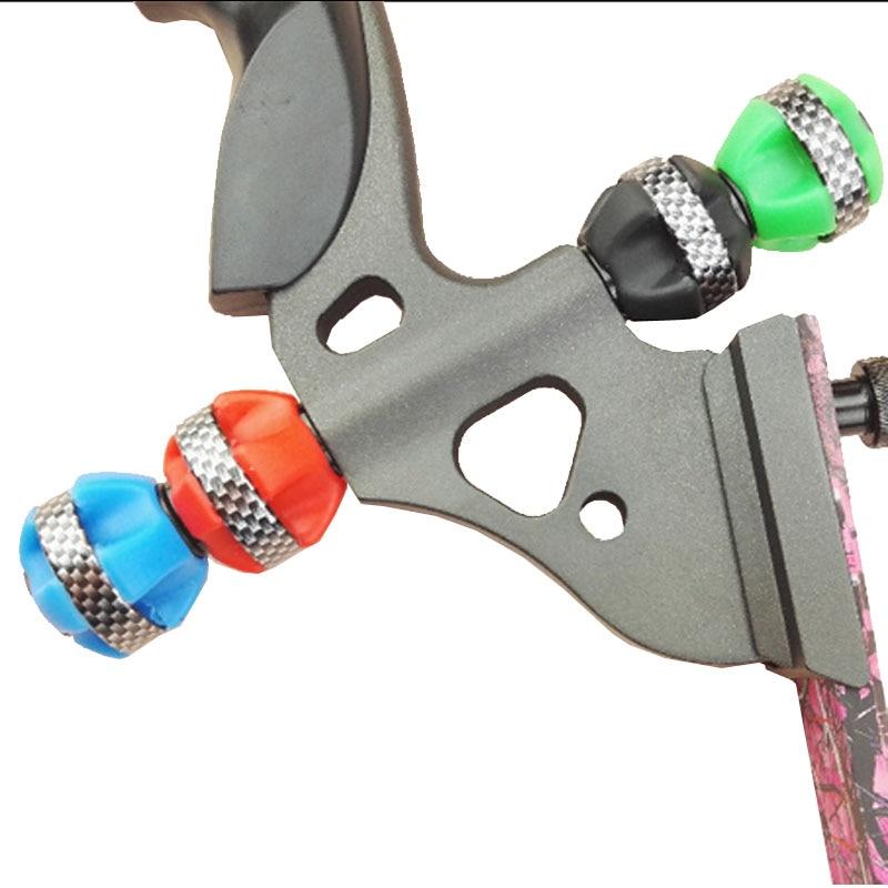 양궁 안정제 볼 복각 및 복합 보우 안정기 슈팅 바우 충격 흡수 1 조각 진동 감소