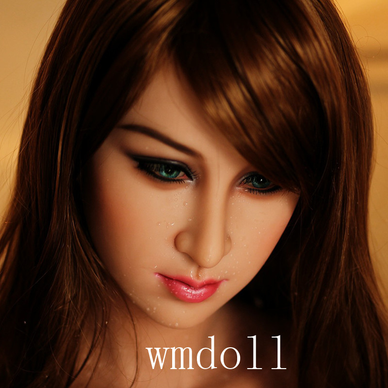 WMDOLL #105 head for TPE sex doll, love doll heads, oral sexy toys, can fit for 145cm-168cm body top quality wmdoll 105 head for tpe sex doll love doll heads oral sexy toys can fit for 140cm 170cm body