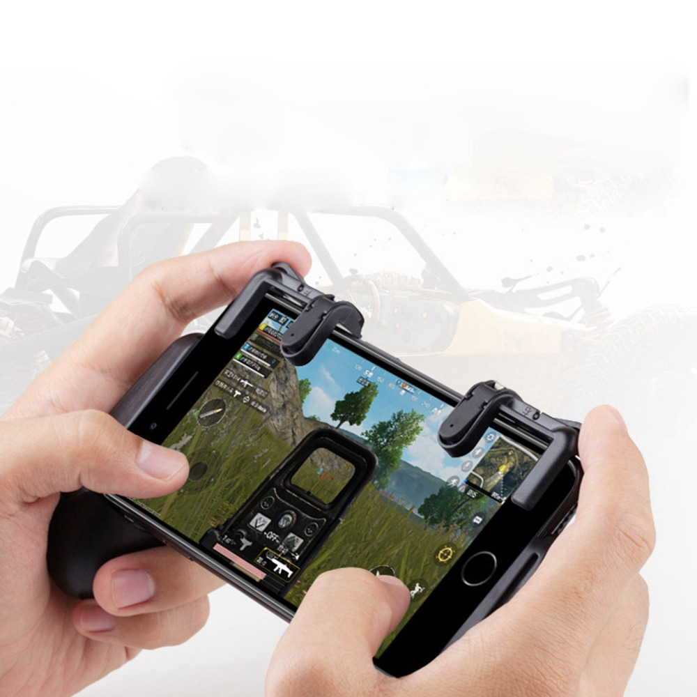 PUBG Game Fire Button Aim Key Smart phone Shooter Gampads PUBG Mobile Gaming Trigger L1 R1 Shooter Controller Rules of Survival ...