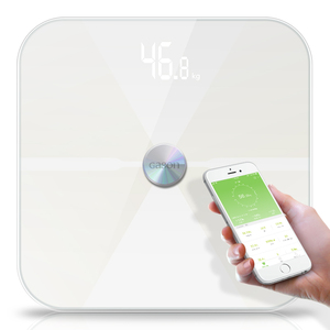 Image 1 - T6 גוף שומן סולמות רצפה מדעי אלקטרוני LED דיגיטלי משקל אמבטיה ביתי איזון Bluetooth APP אנדרואיד או IOS
