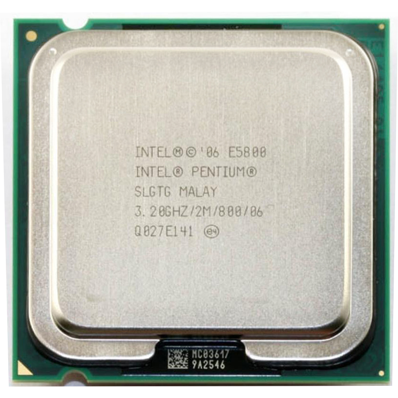 For Intel Pentium Dual-Core E5800 CPU Processor (3.2Ghz/ 2M /800GHz) Socket 775 Free Shipping