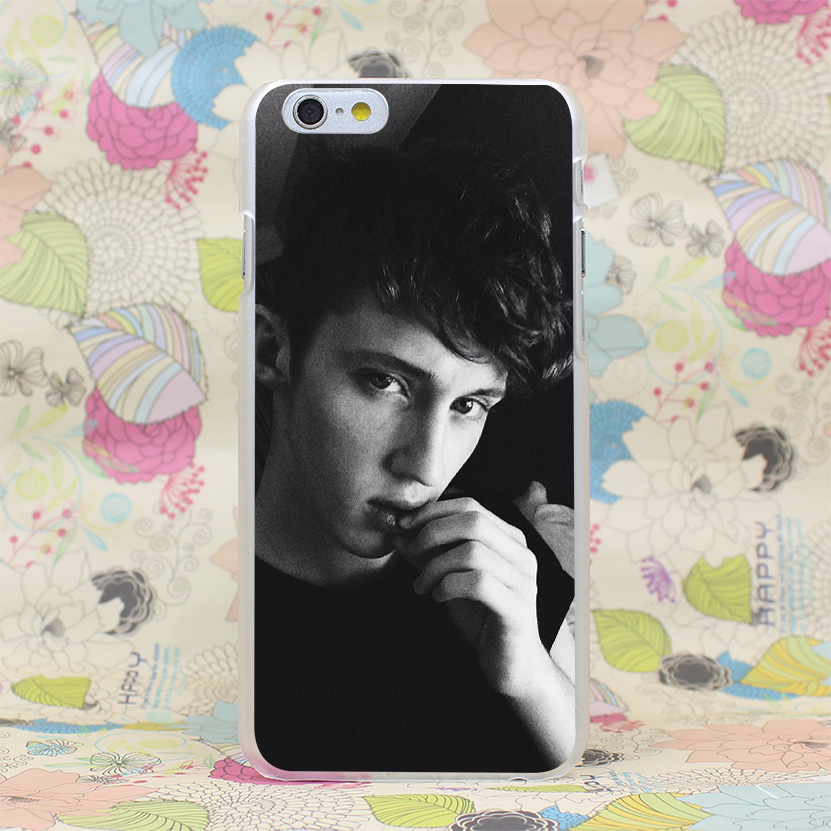 1058HJ Troye Sivan 8 f Hard Transparent Case Cover for iPhone 4 4s 5 5s SE 5C 6 6s Plus 7 7 Plus