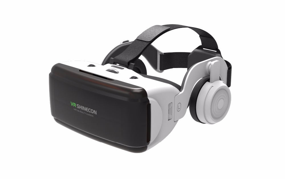 Original VR Virtual Reality 3D Glasses Box Stereo VR Google Cardboard Headset Helmet for IOS Android Smartphone,Bluetooth Rocker screenshot