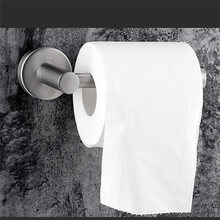 Toilet Roll Holder 304 Stainless Steel 3M Strong Glue for Hanging Hygiene Paper Towel in Bathroom Storage