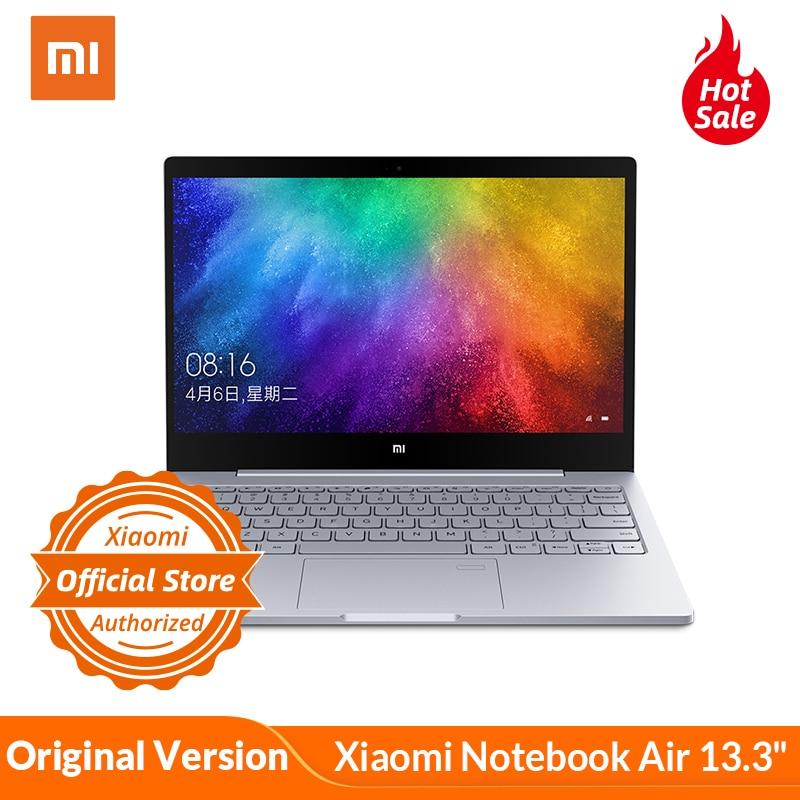 "Original Xiaomi Mi Notebook Air 13.3"" Mi Laptop Fingerprint Recognition I5-7200U Intel Core 8GB DDR4 256GB PCIe SSD Windows 10"
