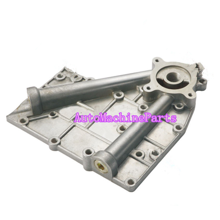 Oil Cooler Cover Fits For Komatsu Engine 4D95 Excavator Bulldozer PC60-6 PC60-7 aluminum water cool flange fits 26 29cc qj zenoah rcmk cy gas engine for rc boat