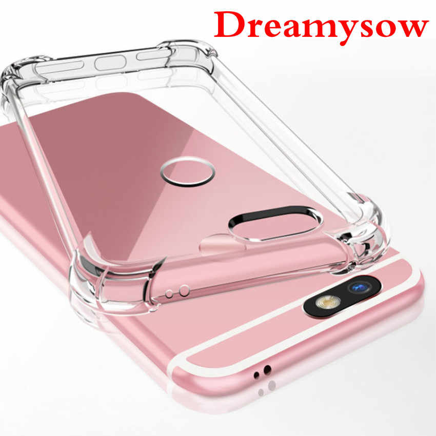 For Huawei P20 Pro P10 lite 2017 Mate 9 10 Pro lite Nova 2 2i Honor 6A 6X 7X 9 6C 8 Pro Case Shockproof TPU Clear Silicone Cases