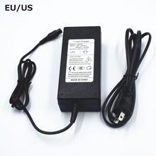 Eu/us 42v 2a зарядное устройство Ховерборд скейтборд 36v литий