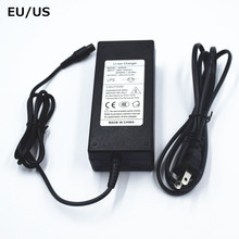 Ue/US 42V 2A chargeur Hoverboard Skateboard chargeur 36V Li ion batterie adaptateur dalimentation auto équilibrage Scooter chargeur 42V