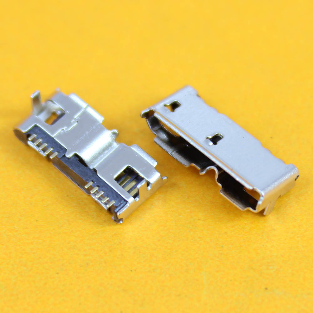 cltgxdd <font><b>10</b></font> pin 3.0 Micro <font><b>usb</b></font> connector <font><b>type</b></font> <font><b>B</b></font> jack socket charging port dock for repair mobile Tablet PC MP3 MP4 MP5,Prongs image