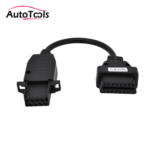 US $6 9 20% OFF|For Volvo 8Pin Cable For Volvo Truck Heavy Duty Diagosis  Connector OBD OBD2 Truck Cable Adapter For VOLVO 8 pin Free Shipping-in Car