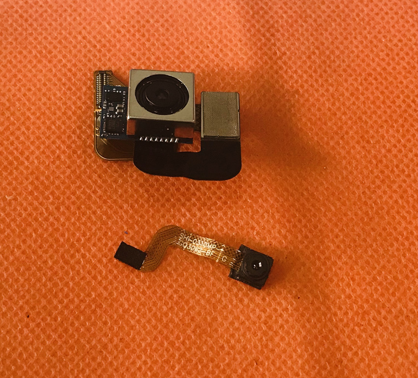 Foto Original cámara trasera 21.0MP + 5.0MP módulo para Ulefone Power 5 MTK6763 Octa Core 6,0