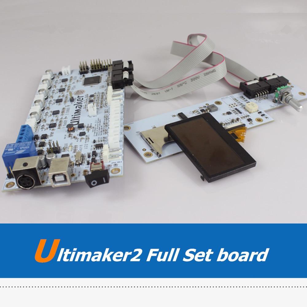 UM2 3D Printer Machine Full Set MainBoard OLED Screen LCD Display For DIY Ultimaker 2 3D