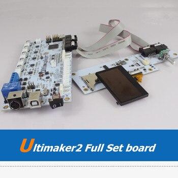 UM2 3D принтер машина полный набор материнская плата OLED экран ЖК-дисплей для DIY Ultimaker 2 3D принтеры